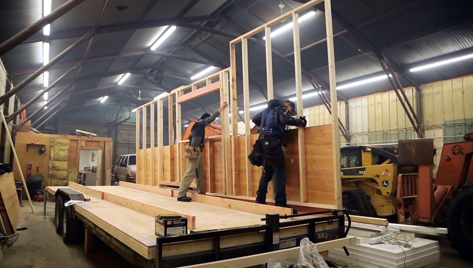 Resultado de imagem para tiny house wood frame