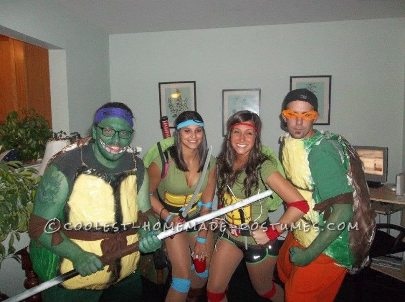 Best homemade ninja turtle costumes turtle costumes ninja best homemade ninja turtle costumes solutioingenieria Image collections