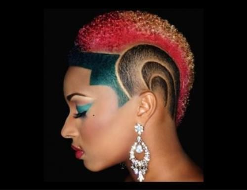 Surprising 1000 Images About Mohawkit Out On Pinterest Mohawk Short Hairstyles For Black Women Fulllsitofus