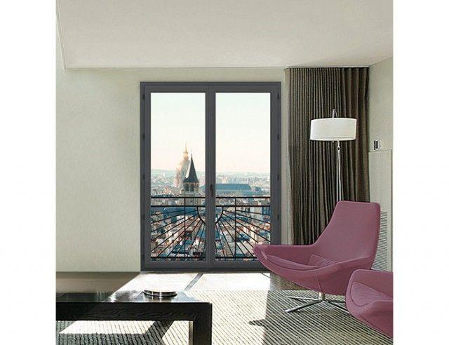 Fenêtre et porte-fenêtre pvc Evoluence Classic et Style - peinture sur pvc fenetre