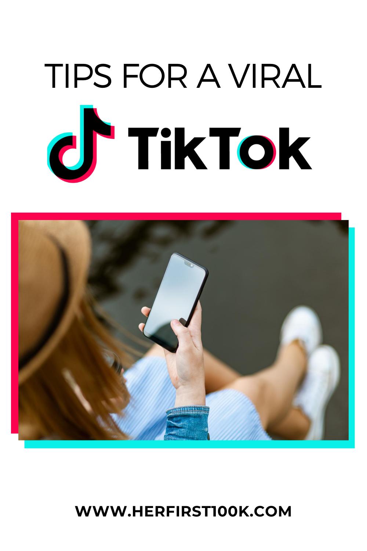 How I Went Viral On Tiktok Her First 100k Marketing Mentor Coaching Business Social Media Tips