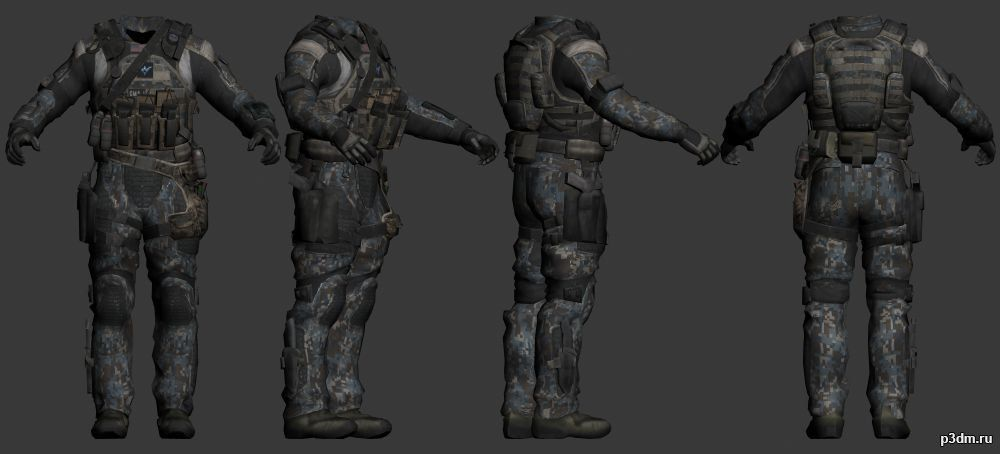 call of duty black ops 3 3d models - Google Search