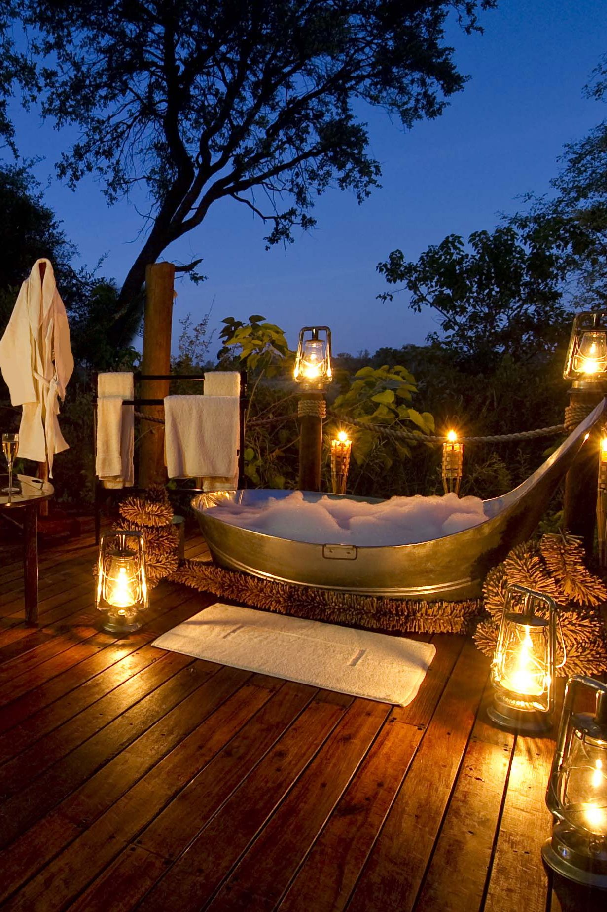 Badkuip Camping Thelist The New Places To Honeymoon In 2015 Travelicious