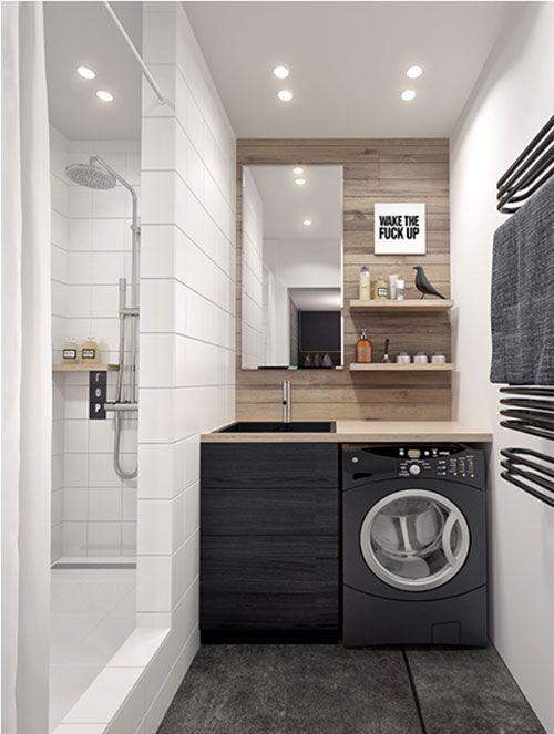 Mooie kleine badkamer inspiratie | inspiratie | Pinterest - Zoeken ...