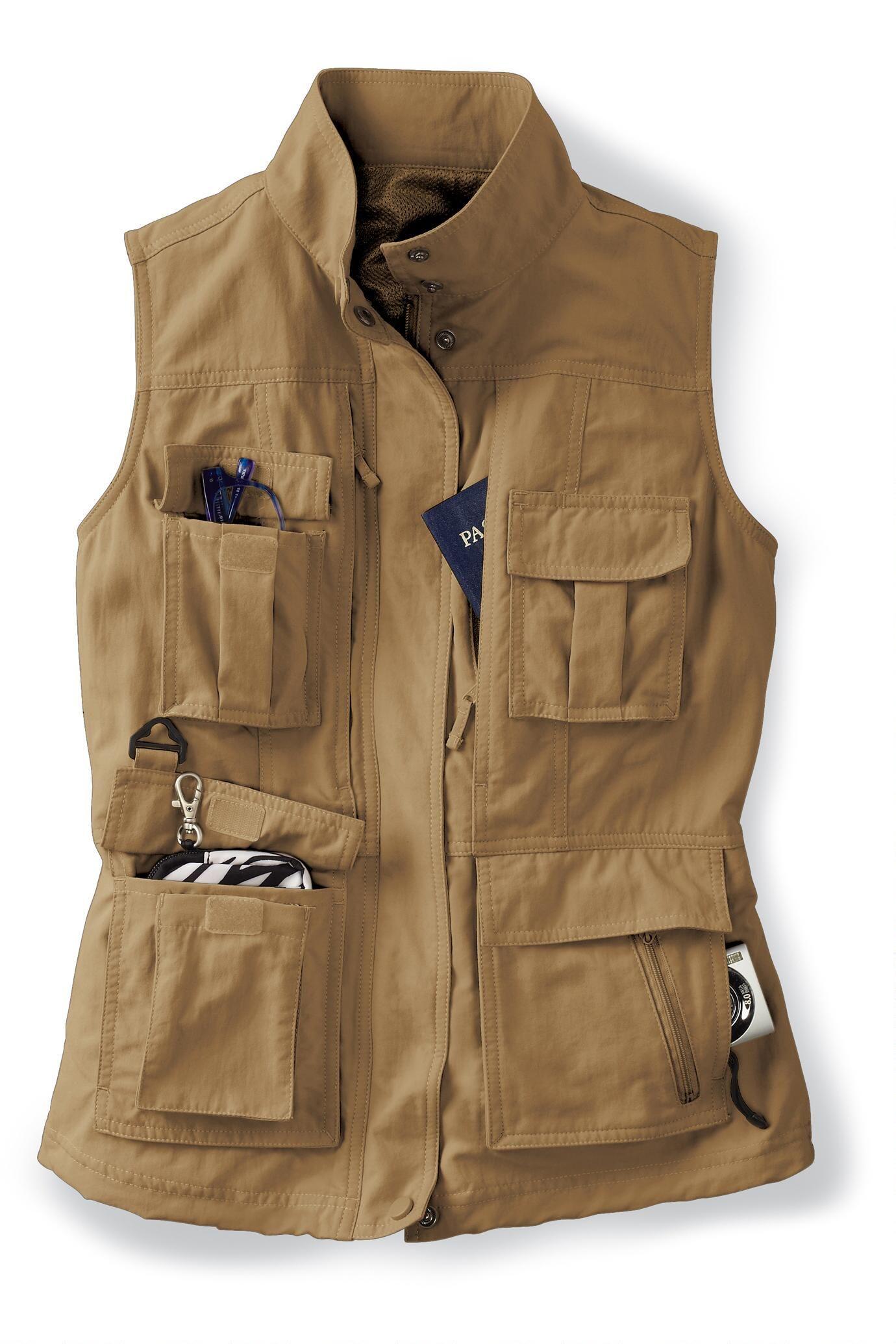 a34bc70ec5c95 Women's 15-Pocket Voyager Vest in 2019   African Safari   Safari ...