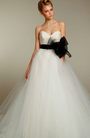 Tara Keely - Sweetheart Ball Gown in Silk Organza