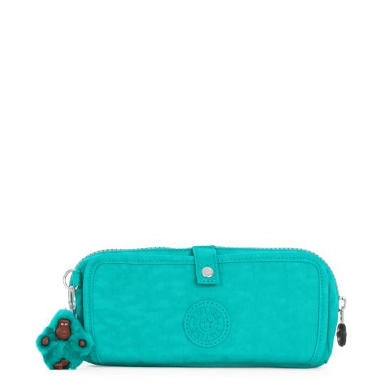 4e0201dd96 Wolfe Roll-Up Pencil Pouch - Cool Turquoise