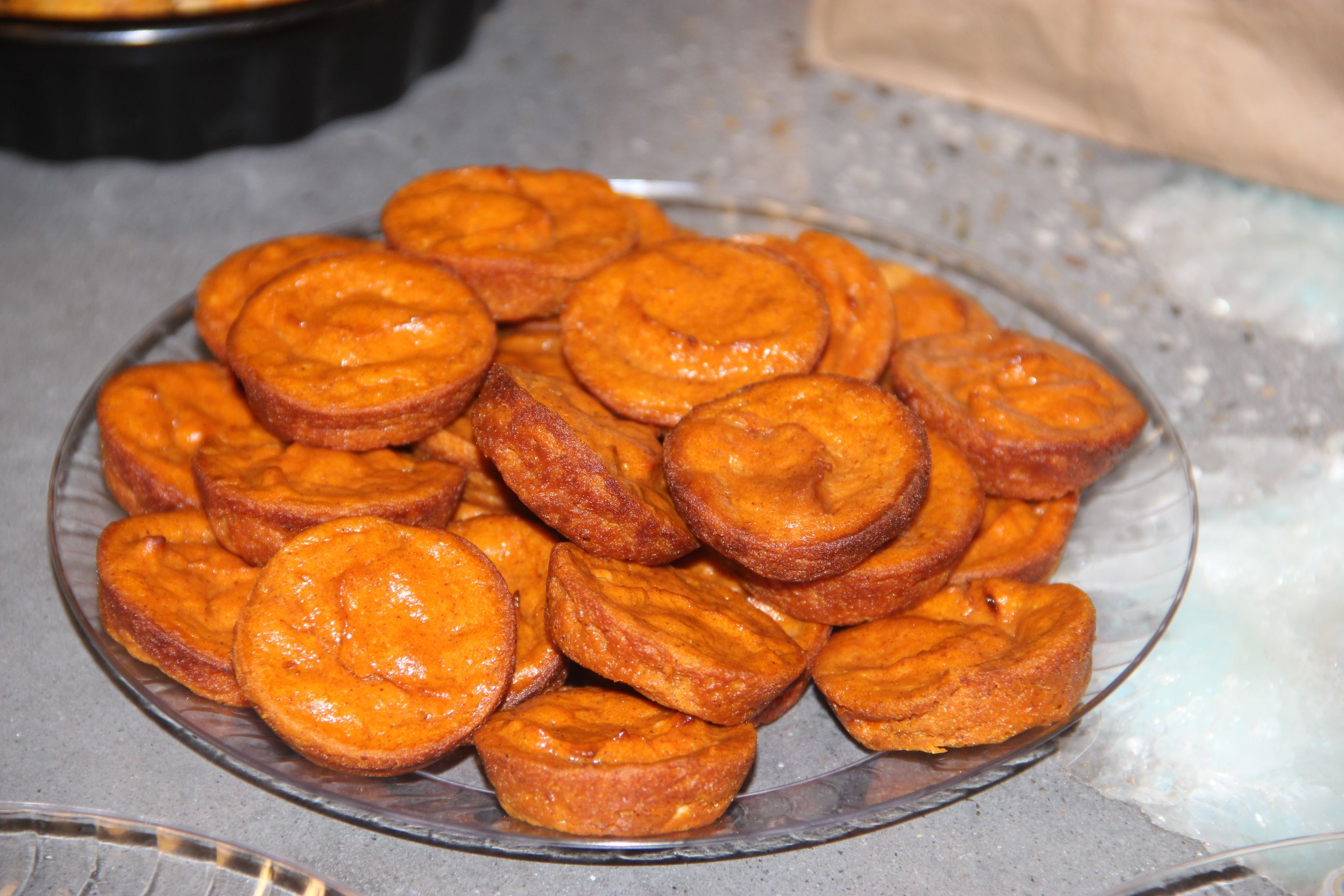 Pumpkin cheesecakes #yummy #pettreats