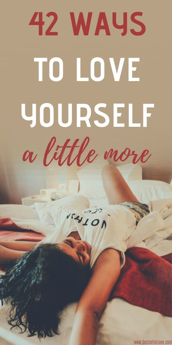 40+ Simple Tips on How To Love Yourself More Starting ...