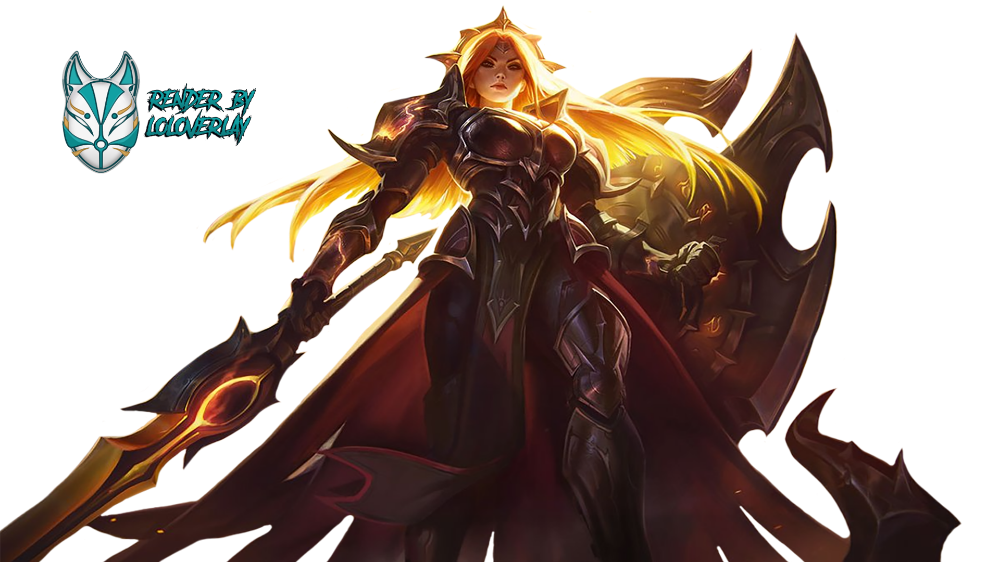 Solar Eclipse Leona Render By Lol Overlay On Deviantart League Of Legends Rendering Solar Eclipse