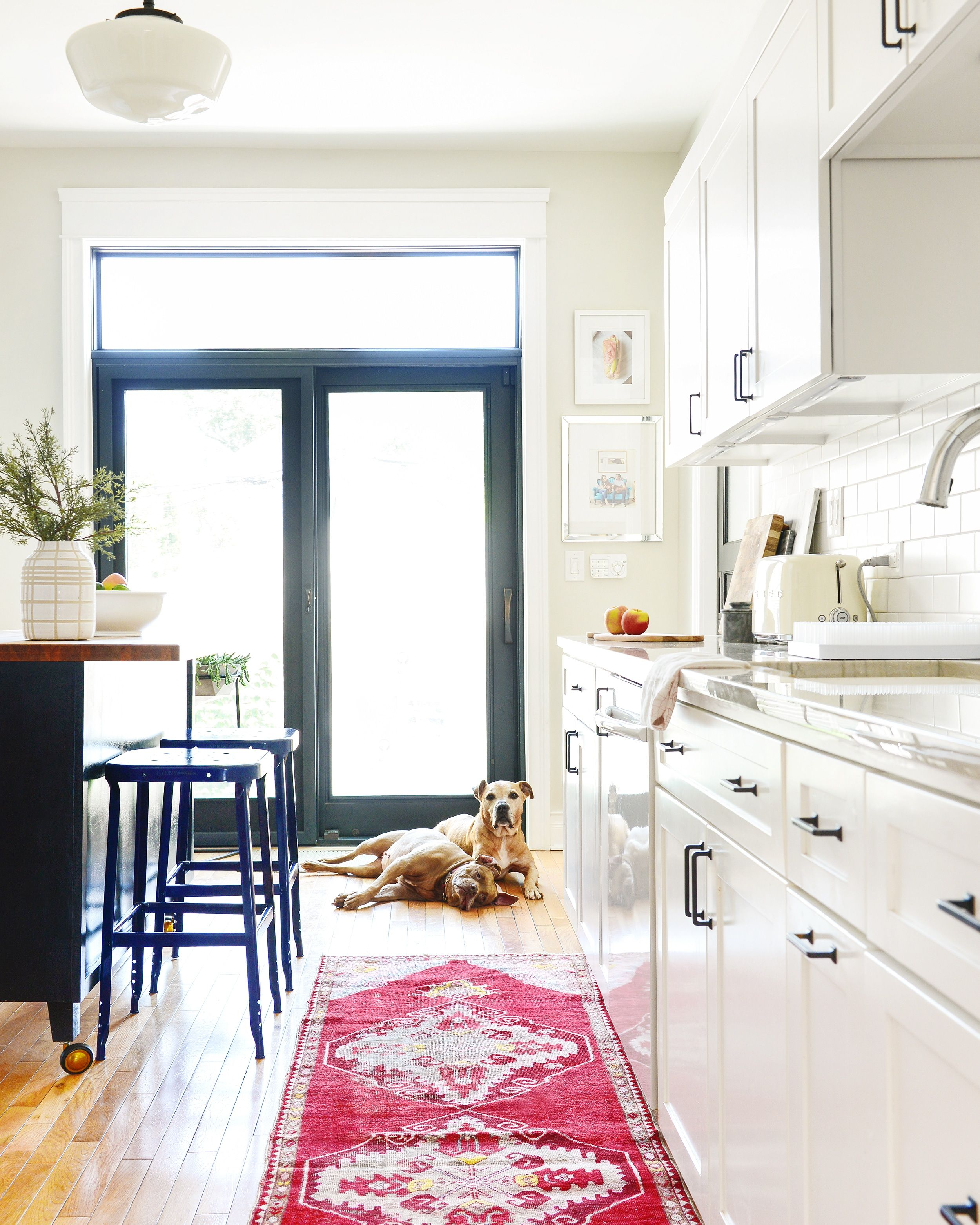 Home Essentials That Look Good Doing Their Thing The Kitchen In 2020 Yellow Kitchen Home Inset Cabinets