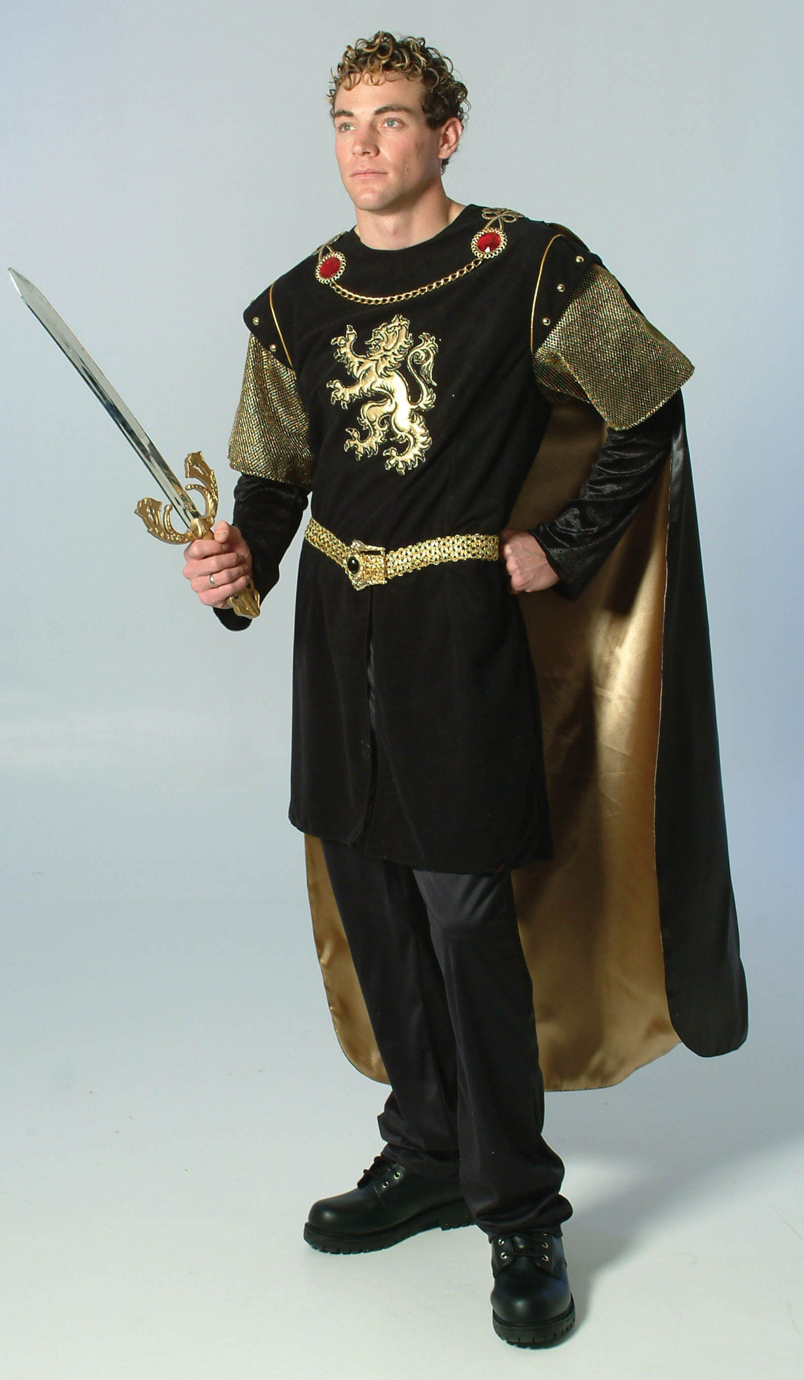 Cavalier Mens Adult Knight Victorian Prince Halloween Costume