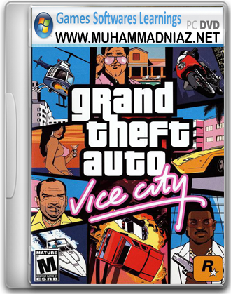 Gta Vice City Highly Compressed Pc Game Free Download Grand Theft Auto City Games Pc Games Download