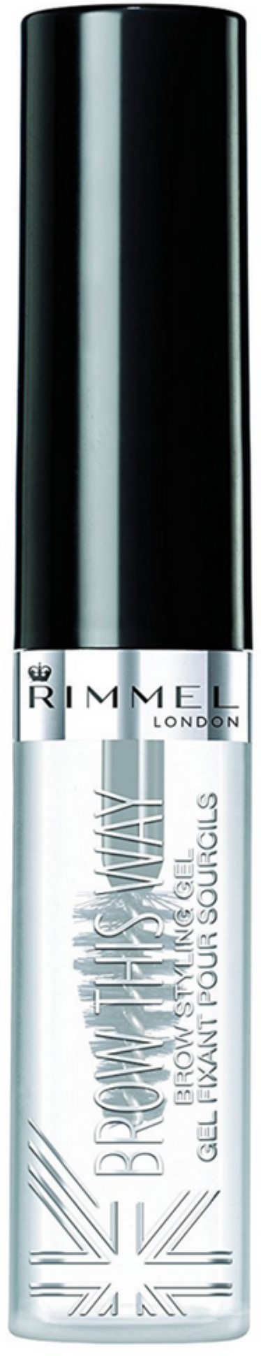Rimmel Brow This Way Eyebrow Gel, Clear
