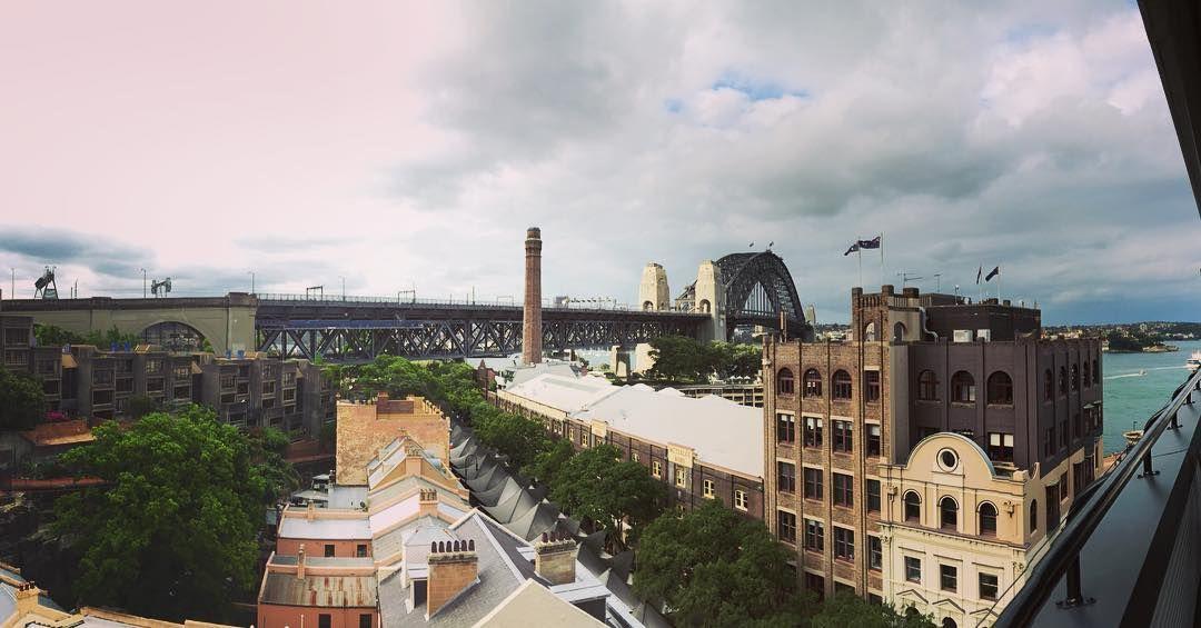 #Sydney #holidayinn #holidayinnoldsydney #sydneyharbour #sydneyharbourbridge #panorama #clouds #bridge #australia by drfc333 http://ift.tt/1NRMbNv