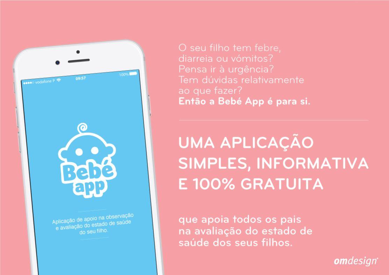 BebéAPP Vida Norte (2019)  #Omdesign #Design #Portugal #LeçadaPalmeira #Since1998 #AwardedAgency #DesignAwards #Communication #Digital #App #Appmobile #VidaNorte #AssociaçãoVidaNorte #SocialResponsability #Charity #Solidarity