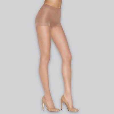 c13b20a85e4 Hanes Premium Women s 2pk Ultra Sheer Light Coverage Pantyhose - Nude S   pk