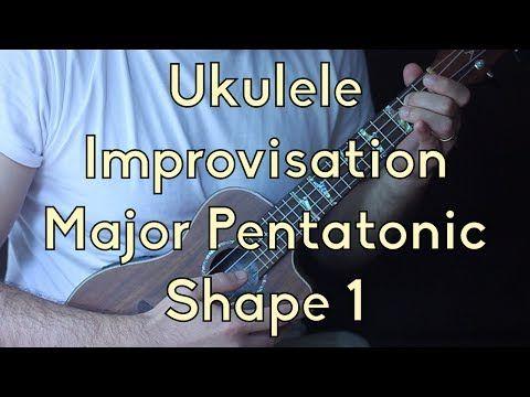 Ukulele Lesson How To Play The Major Pentatonic Easy Ukulele