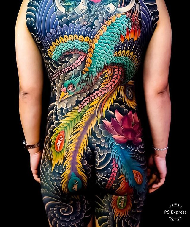 Search Inspiration For A Japanese Tattoo Phoenix Tattoo Japanese Back Tattoo Grey Ink Tattoos