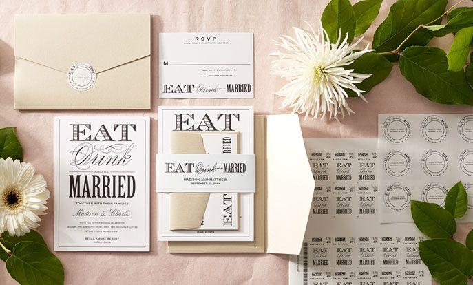 Prezrite si kolekcie svadobné pozvánky a personalizovať podľa farby, dizajn, alebo štýl.