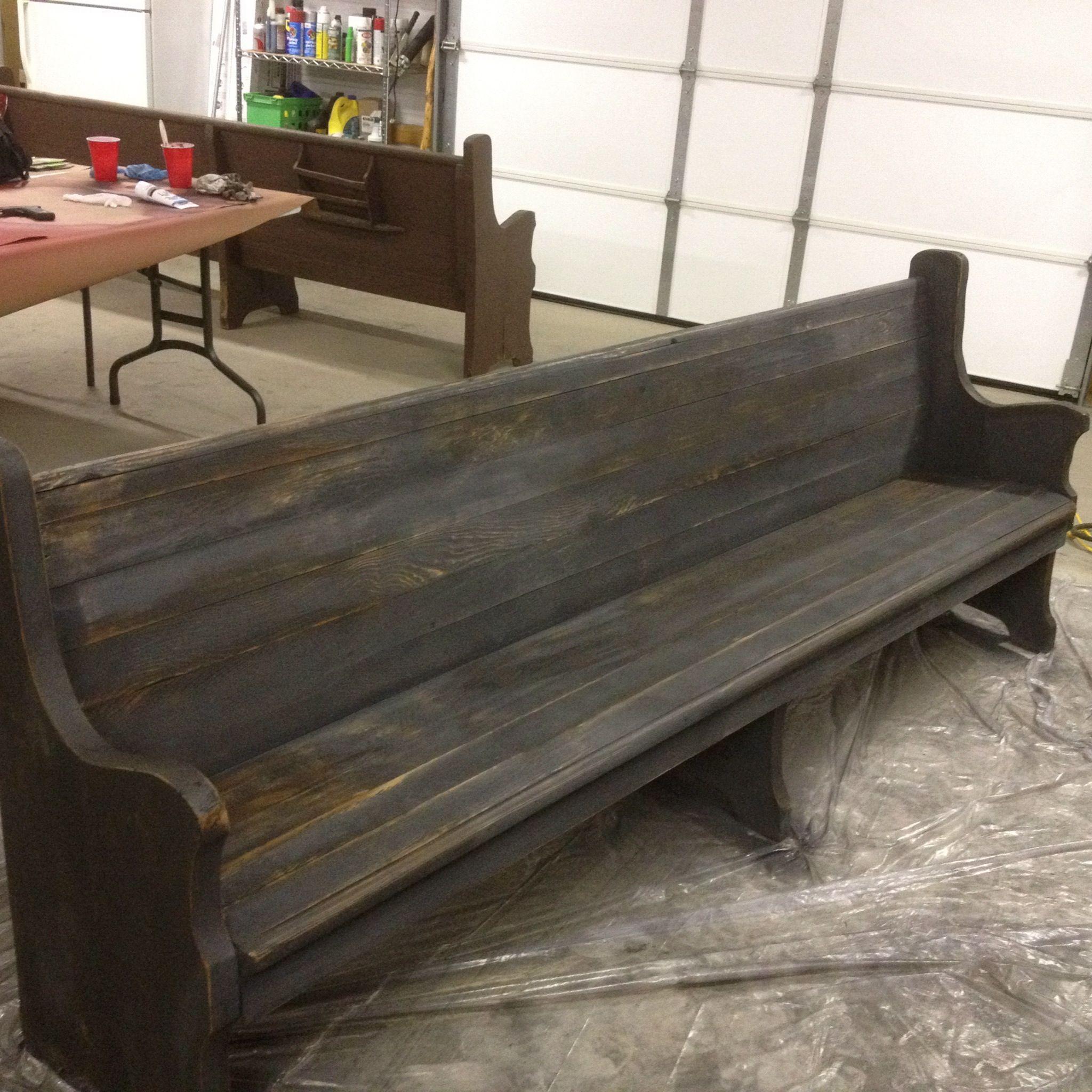 church foyer furniture. Ideas For My Church PewPretty Stain Combo Foyer Furniture D