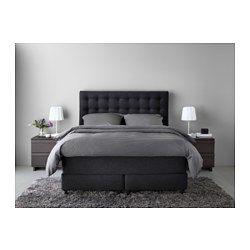 Schön Schlafzimmer U0026 Schlafzimmermöbel Online Kaufen   IKEA. Boxspringbett GrauSchlafzimmer  IdeenEinrichten ...