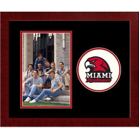 Miami University Redhawks Spirit Photo Frame (Vertical), Multicolor ...