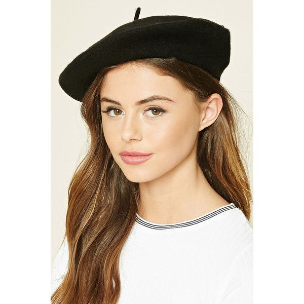 891420a244926 Forever 21 Women s Wool Beret (£10) ❤ liked on Polyvore featuring  accessories