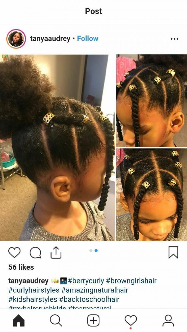Blackhairstylesforkids Black Hairstyles For Women In 2019 Pinterest Hair Styles H Natural Hairstyles For Kids Lil Girl Hairstyles Black Kids Hairstyles