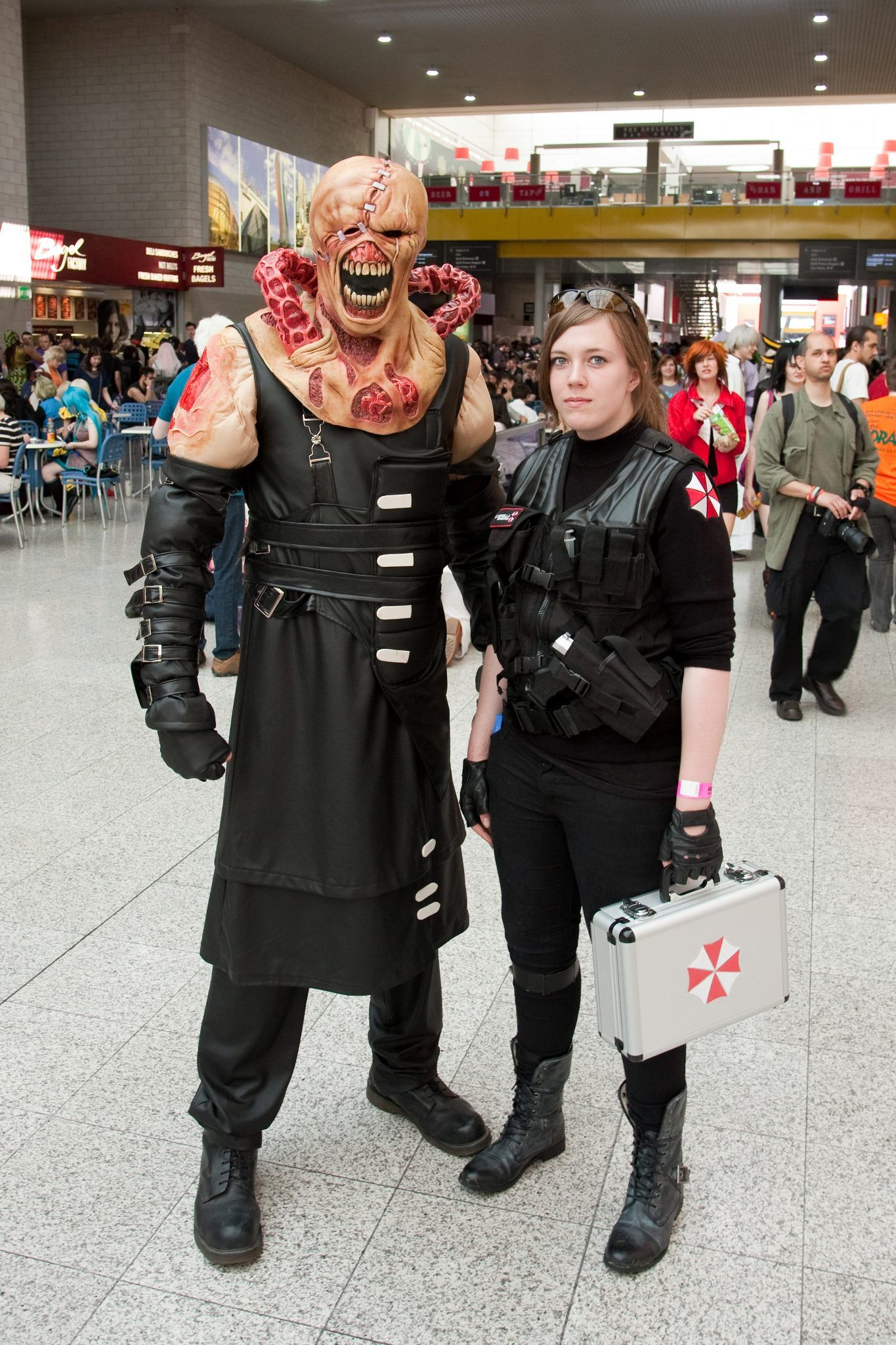 resident evil cosplay gaming cosplay pinterest
