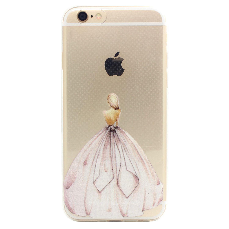 jiaxiufen tpu coque - pour apple iphone 6 6s silicone Étui housse