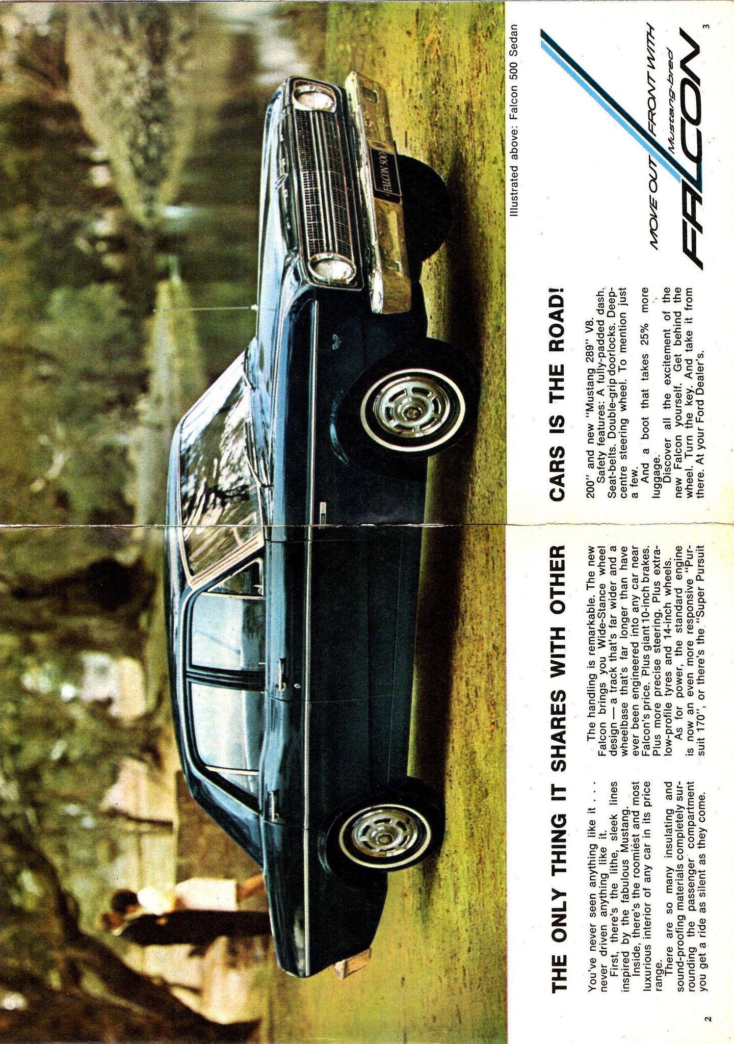 1967 Xr Ford Falcon 500 Page 1 2 Aussie Original Magazine