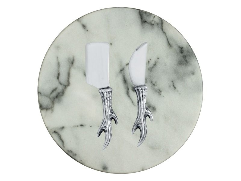 Marble Cheese Set Cheese Board Set Marble Plates