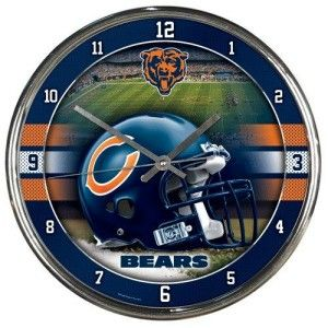 Check out our authentic collection of fan gears, souvenirs, memorabilia. Support the team you love! Free shipping for orders $99+  We are family owned business based in Washington state.   Check this link for more info:-https://www.indianmarketplace.net/chicago-bears-round-chrome-wall-clock/  #NFL #MLB #NBA #NCAA #NHL#ChicagoBears