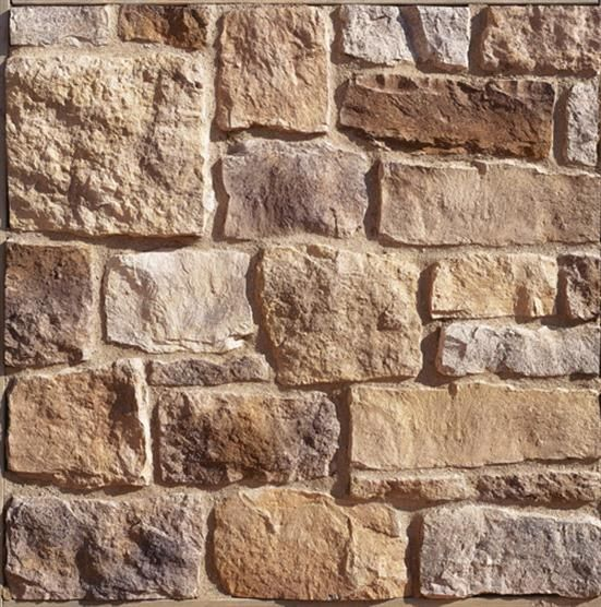 stone work on interior walls