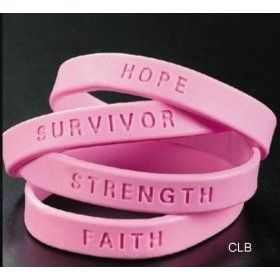144 T Cancer Awareness Pink Ribbon Bracelets Bulk Whole Case Lot For Fundraising 15 95