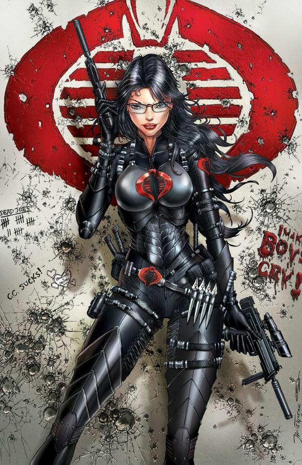 The Baroness Comics Girls Gi Joe Comic Book Characters