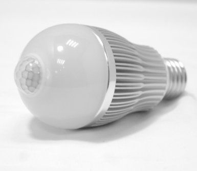 Led Bulb With Light And Motion Sensor 60w Equiv Lights Up If It S Dark And There S Motion Motion Sensing Light Motion Sensor Lights Energy Saving Lighting