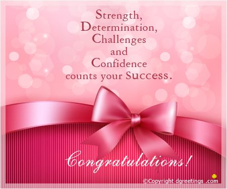 wish your loved ones and convey your feelings on their success – Success Cards for Exams