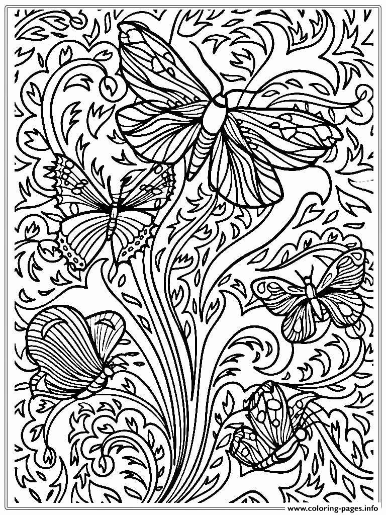 Free Online Coloring Pages Adults Unique Coloring Pages Coloring Pages Phenomenal For Adu In 2020 Butterfly Coloring Page Coloring Pages Nature Detailed Coloring Pages [ 1024 x 768 Pixel ]
