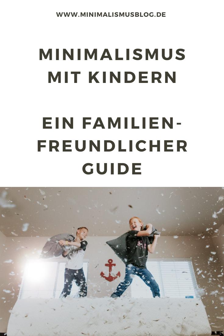 Minimalismus mit Kindern als Familie ausmisten