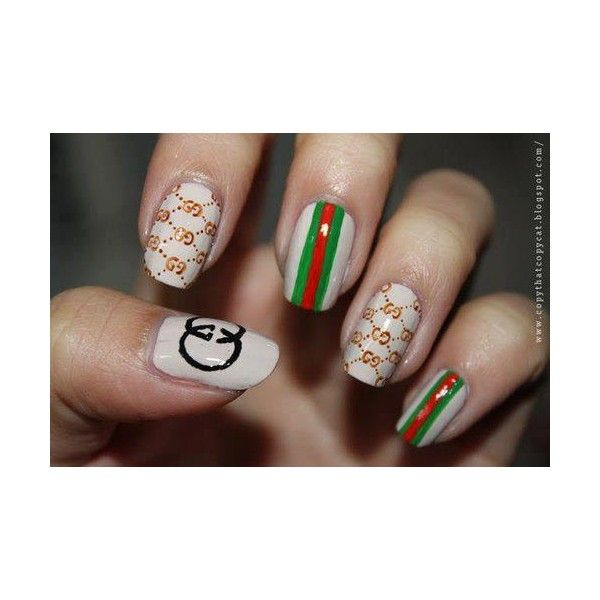 Image detail for ,NAil art Gucci unghie gel