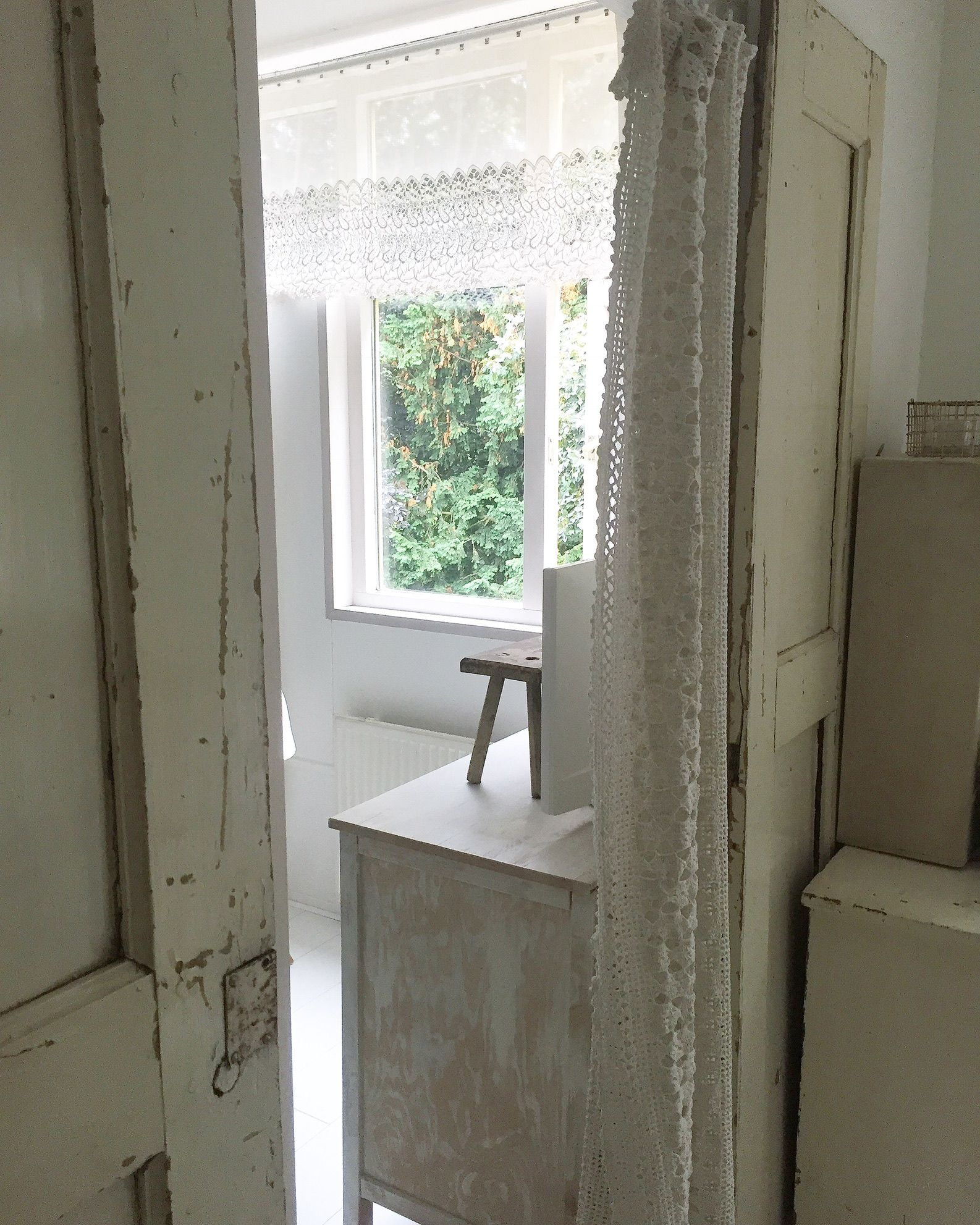 oude gordijnen old curtains