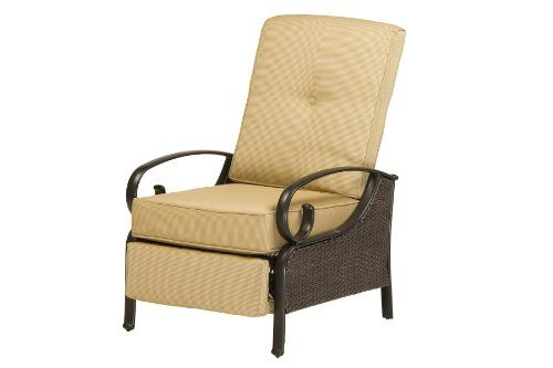 CLICK IMAGE TWICE FOR UPDATED PRICING AND INFO) #chairs #outdoorchairs #poolchairs #loungechairs #outdoorreclinerchair #patio #pool #outdoor SEE MORE patio lounge chairs at http://zpatiofurniture.com/index.php?cat=1716=meta_value=price=asc  Wentworth Striped Wicker Recliner by La-Z-Boy Outdoor « zPatioFurniture.com