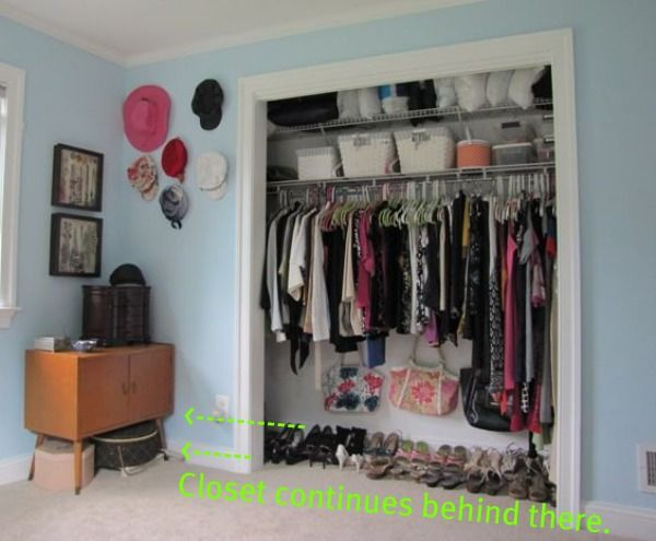 Ordinaire Dressing Room Closet Makeover Using Elfa Rail System.