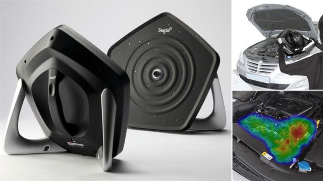 This Portable Sound Camera Shows You Where It's Loud