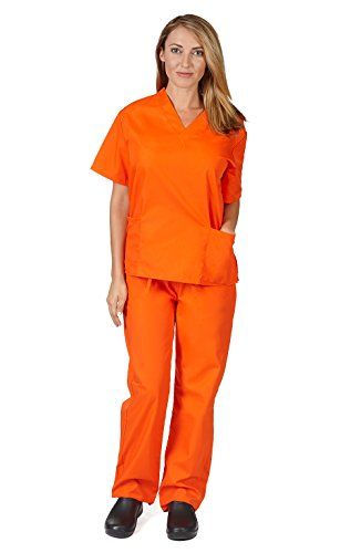 Women's Scrub Set - Medical Scrub Top and Pant, Mandarin ... https://www.amazon.com/dp/B0018VDRV4/ref=cm_sw_r_pi_dp_QZhAxbX8BNERE
