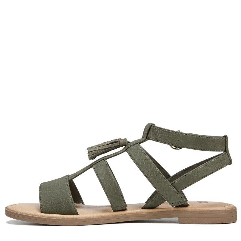 1ecd43cc09d Dr. Scholl s Women s Encore Sandals (Green Snake Print)