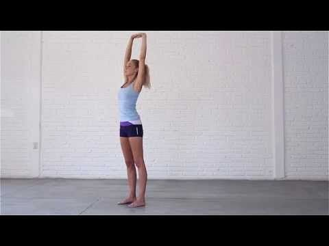 standing upper body stretches  youtube with images