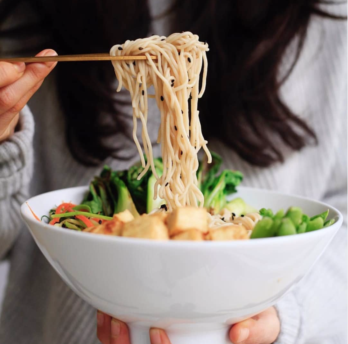 These Organic Whole Grain Ramen Noodles from Lotus Foods